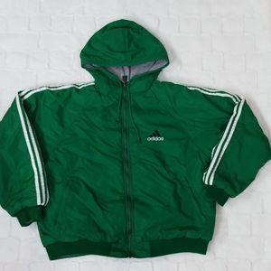 Vintage  Adidas reversable winter coat